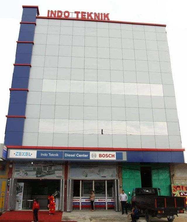 indo teknik office Boach Diesel Center Pekanbaru
