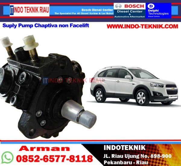 Supply Pump Chaptiva Non Facelift
