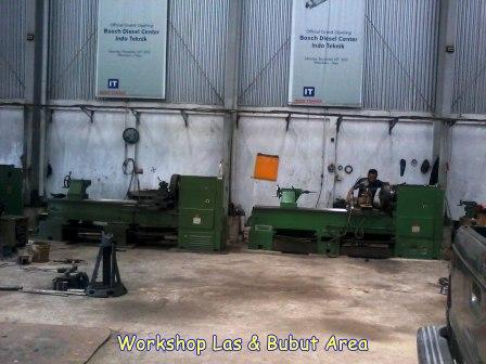 Workshop Las Bubut Indo teknik