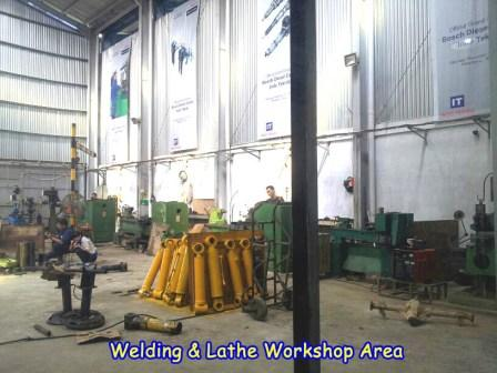 Welding Lathe Workshop Area Indo Teknik