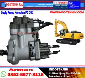 Supply pump pc 300 - 8