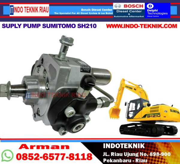 Supply Pump Sumitomo SH210 (4HKI)